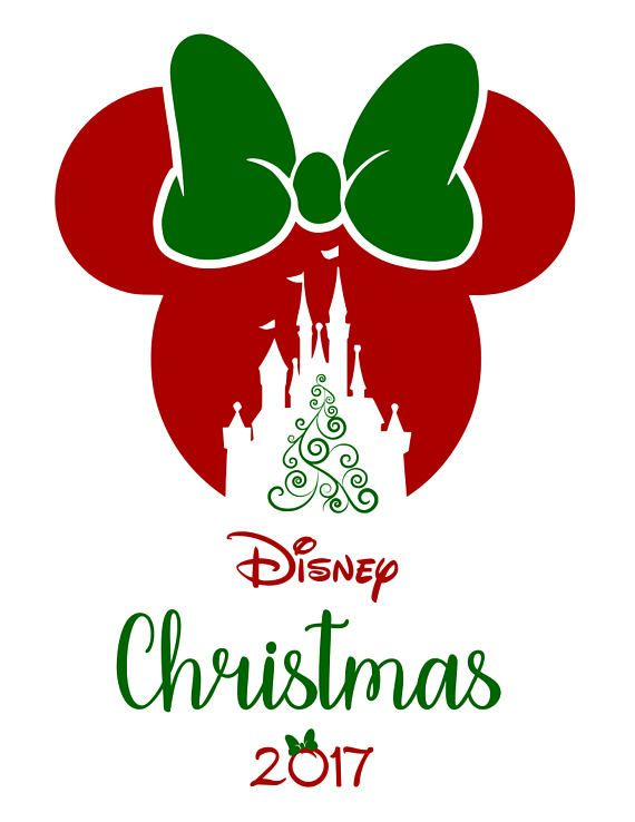 Merry Christmas Disney Svg Mickey in 2020 Disney