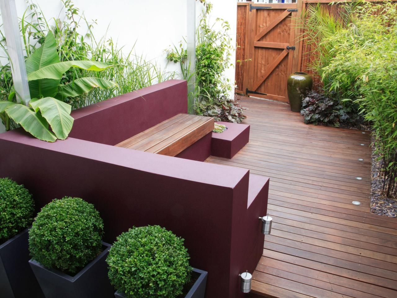 Pictures And Tips For Small Patios Outdoor Design Landscaping Ideas Porches Decks Patios Hgtv Small Yard Design