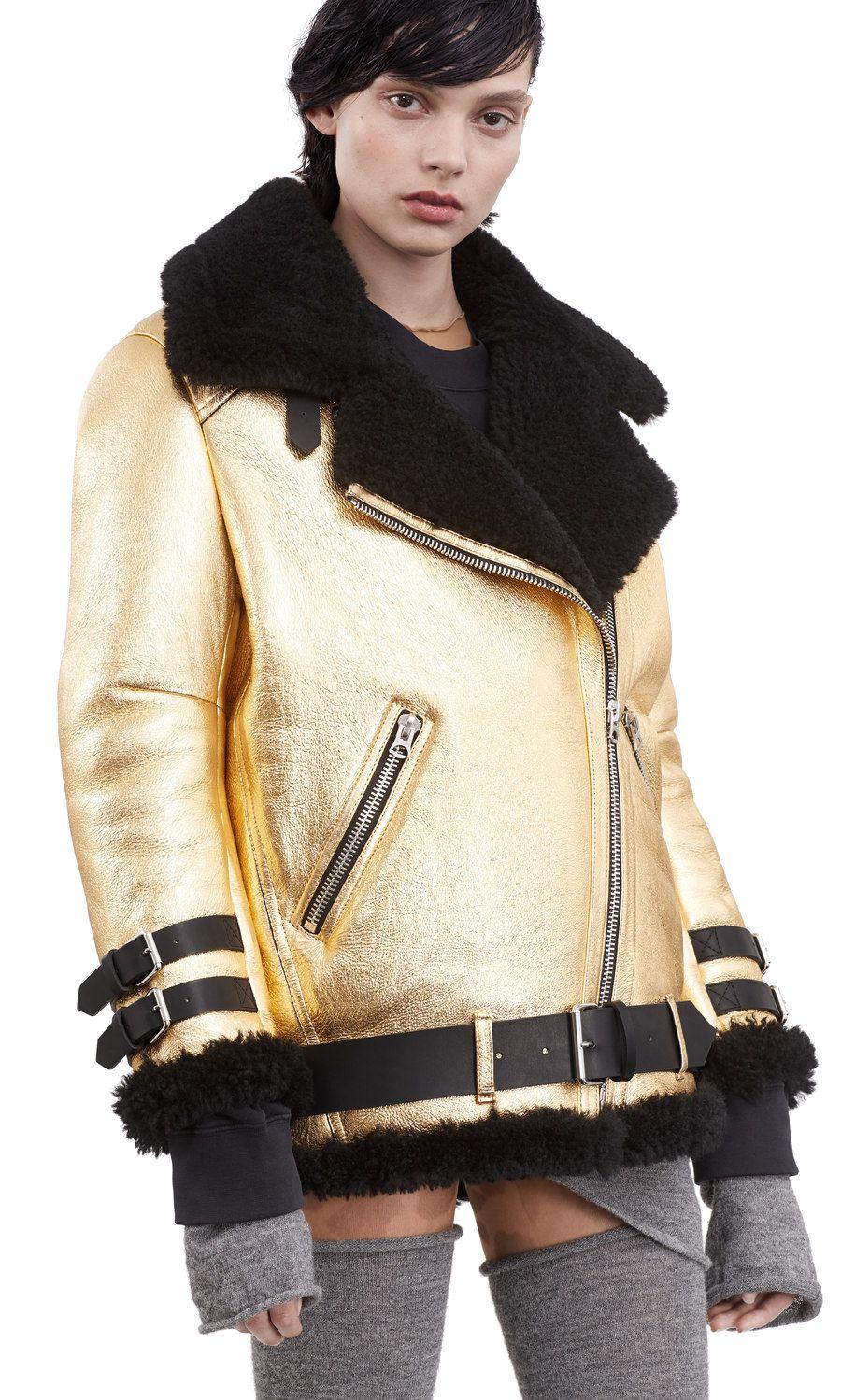Velocite Met, Gold / Black, 900x 002 Mode, Veste peau de