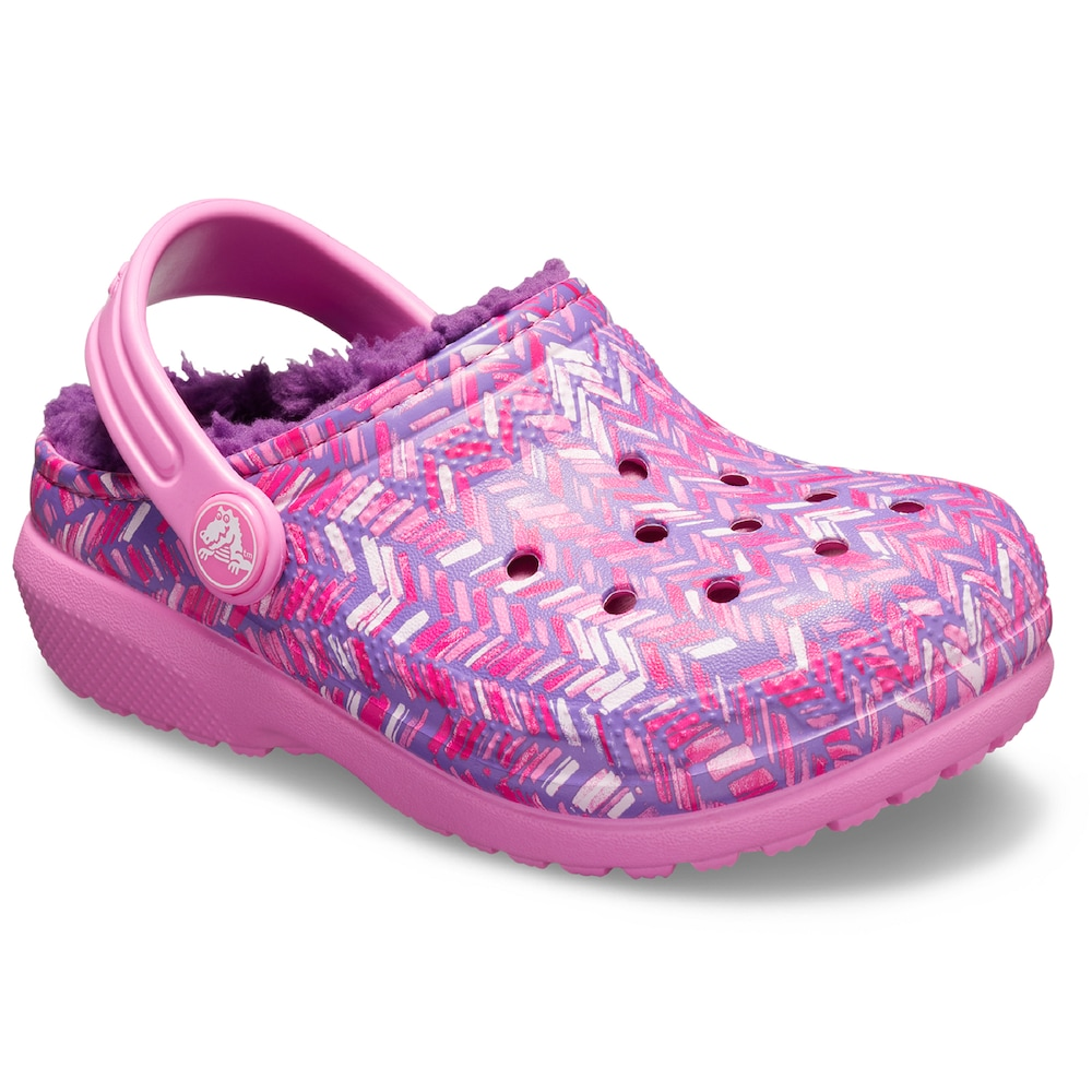4a30ef69941f Crocs Classic Lined Graphic Girls  Clogs