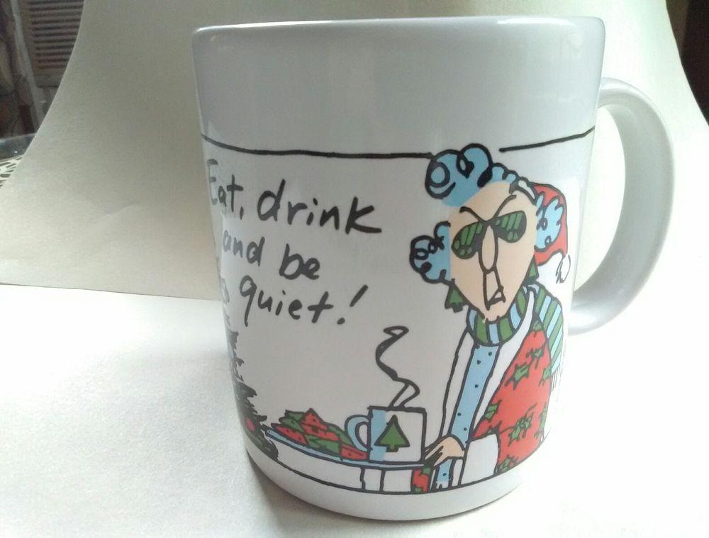 Hallmark shoebox greetings 12 oz coffee mug maxine cup christmas hallmark shoebox greetings 12 oz coffee mug maxine cup christmas humor m4hsunfo Image collections