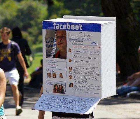 human facebook box