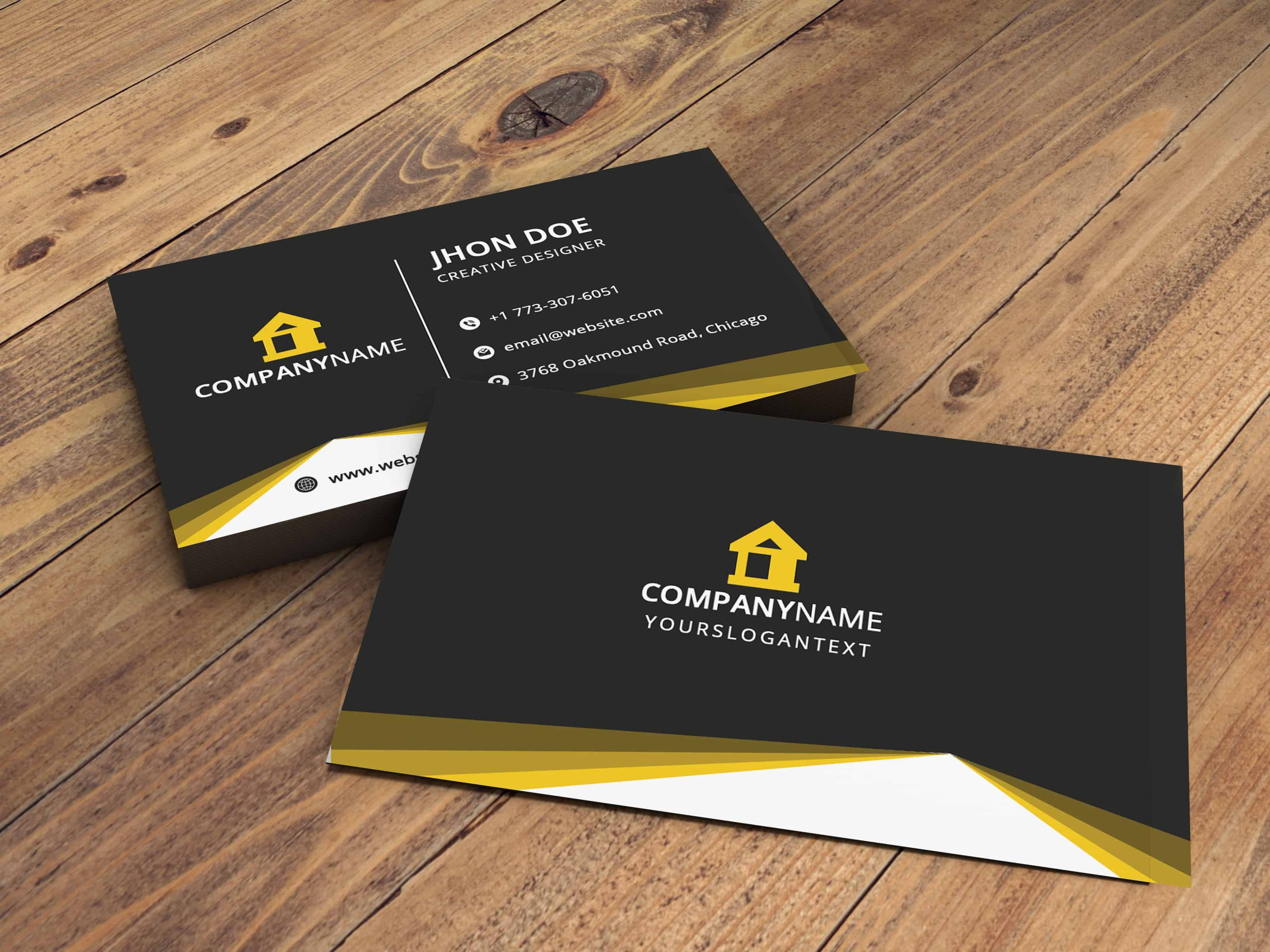 Creative Business Card Design Graphic Design Business Card Professional Business Card Design Free Business Card Design
