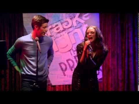 "Barry Allen Singing ""Summer Nights"" Plus Drunk Caitlin Snow (The Flash) - YouTube"