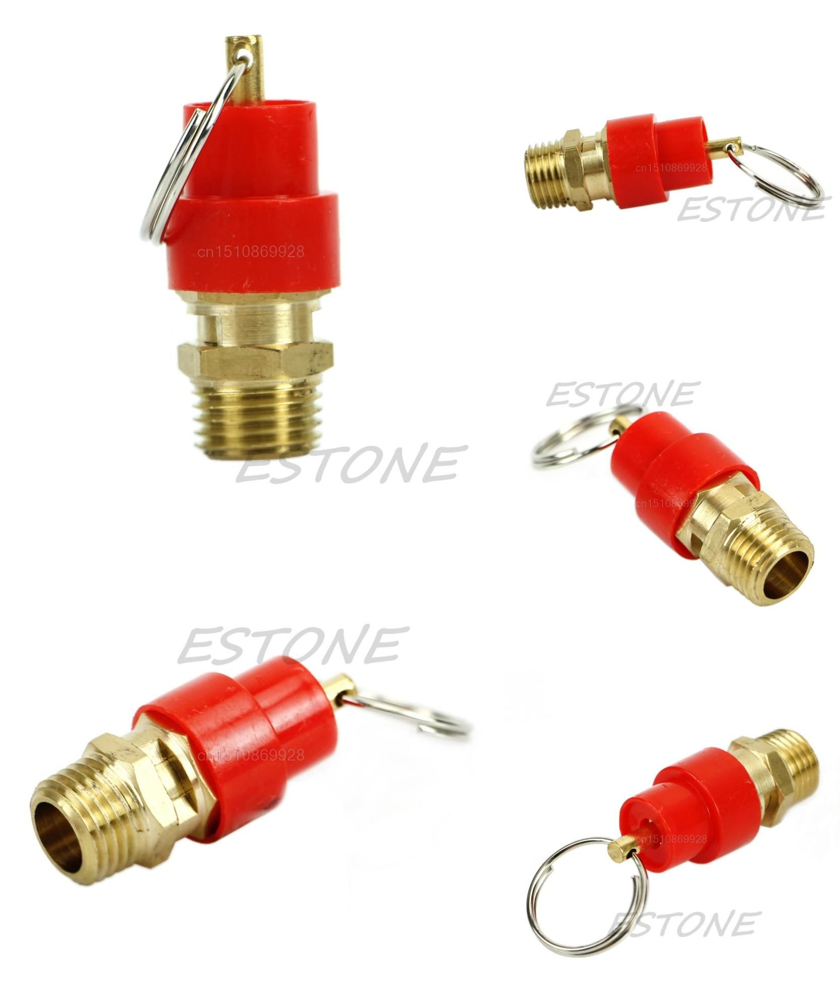 [Visit to Buy] 1pc Air Safety Release Valve 1/4'' 15KG BSP