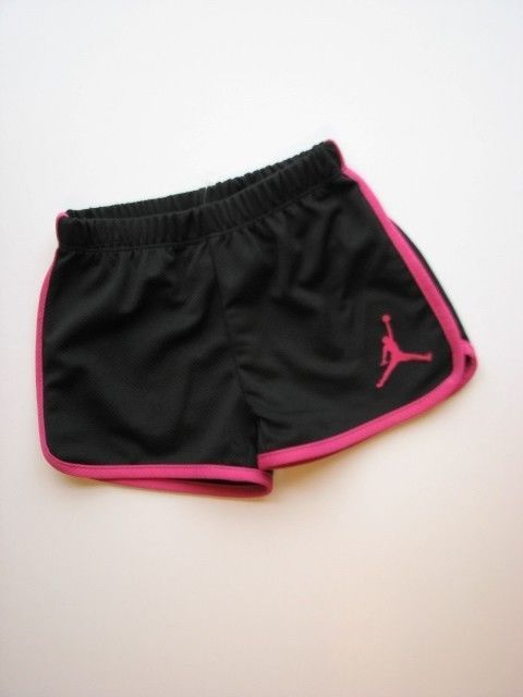 black sport shorts girls