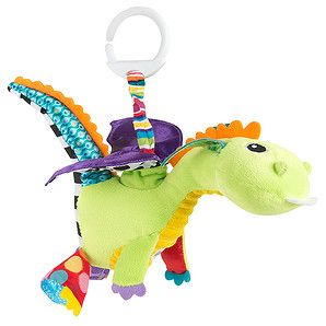Your baby will love to watch Flip Flap Dragon flapping his wings! Pull the white clip to make his vibrant, satin purple wings flip and flap back and...