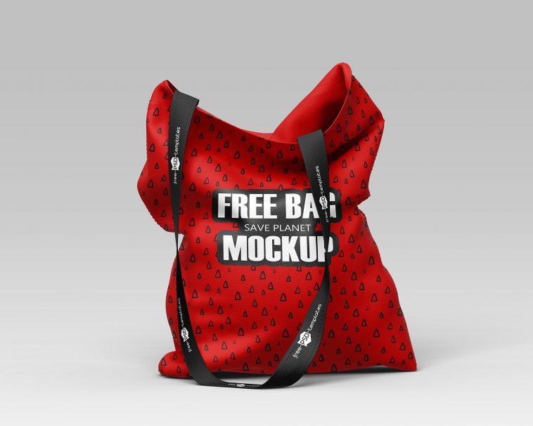 Download 2 Fully Printed Sublimation Cloth Bag Mockups Package Mockups In 2021 Bag Mockup Cloth Bags Packaging Mockup