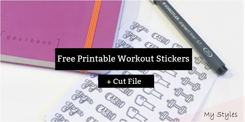 Jan 18, 2020 – Commit to your fitness routine and health goals with these printa…