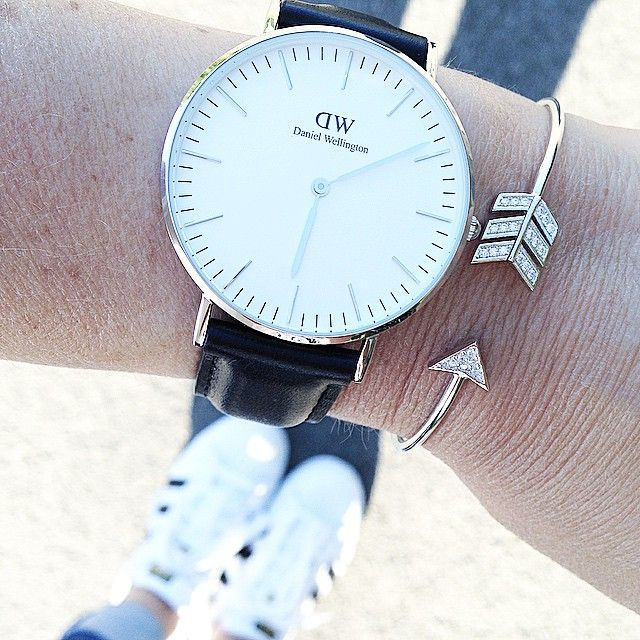 Daniel Wellington watches - from Instagram @val_let
