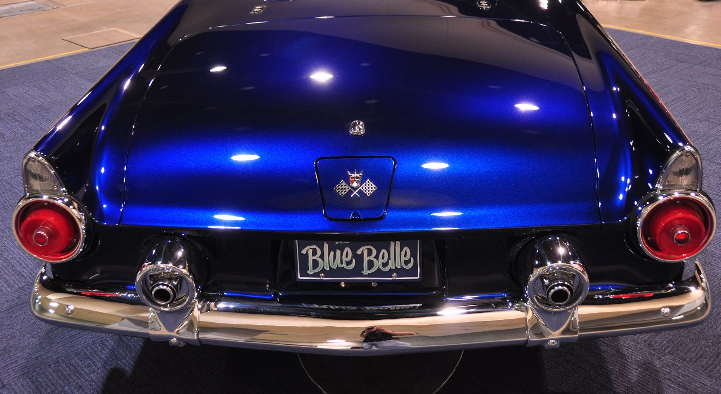 Custom Car Paint >> 55 Tbird Blue Belle Custom Build Custom Car Paint Custom