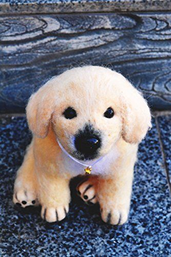 Handmade Christmas Gifts Handmade Golden Retriever Dog Puppy Original Gift Stylish Design Soft Toy *** Check this awesome product by going to the link at the image.