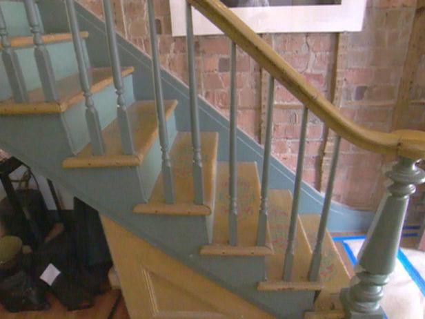 Best Repairing A Banister Banisters Staircase Makeover 640 x 480