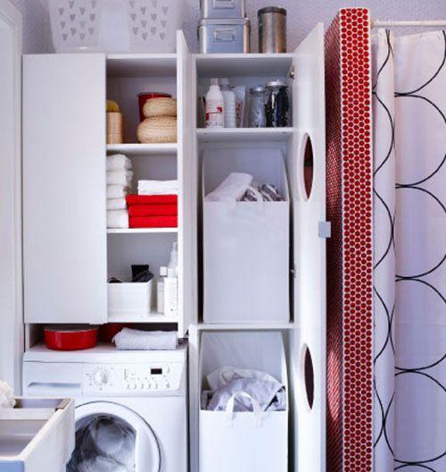 Kleine badkamer van IKEA | Interieur inrichting - Bathroom ...