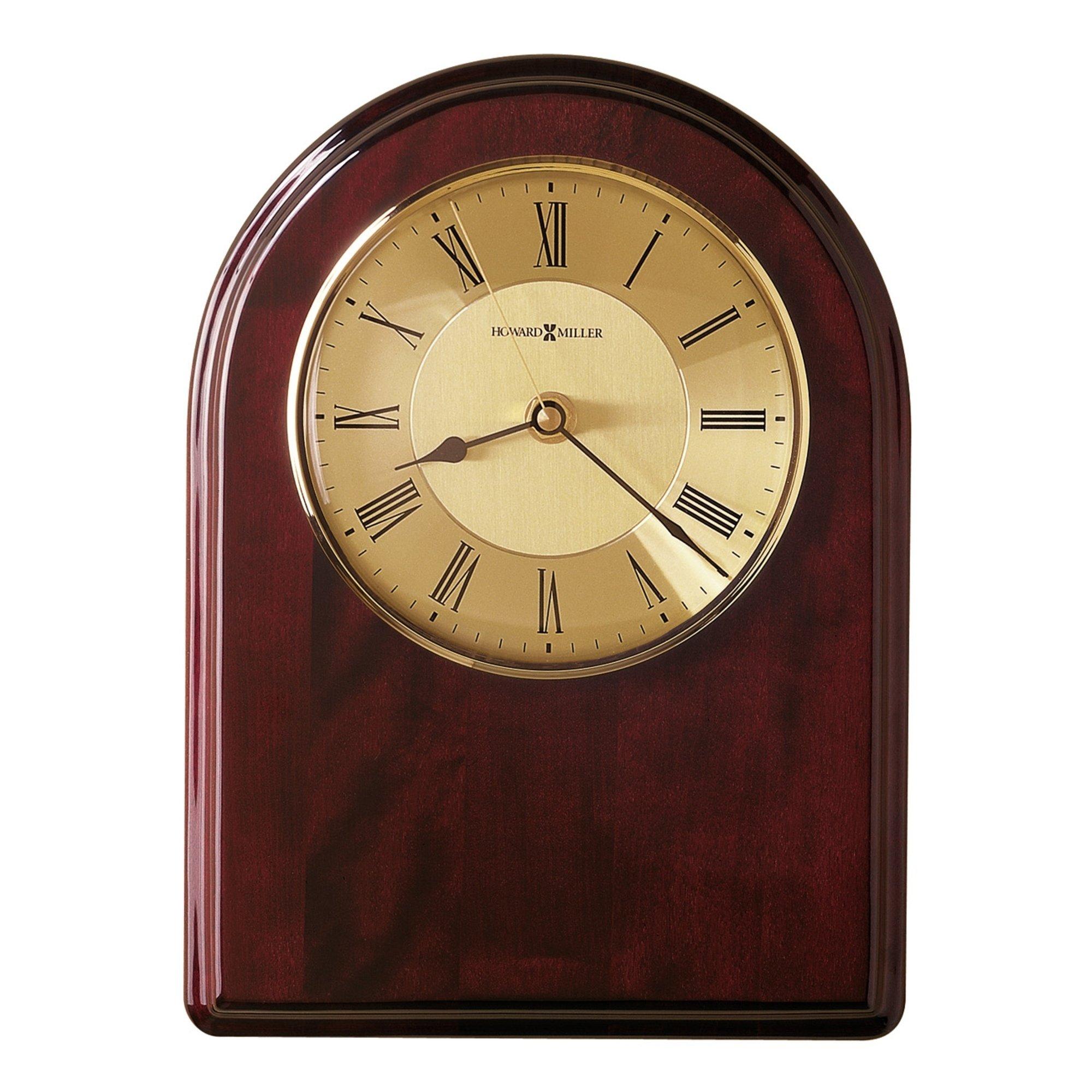 Howard Miller Honor Time Iii Elegant Regal Transitional Wall Clock On Commemorative Plaque Reloj De Pared Black Wood In 2020 Howard Miller Wall Clock Clock Howard Miller