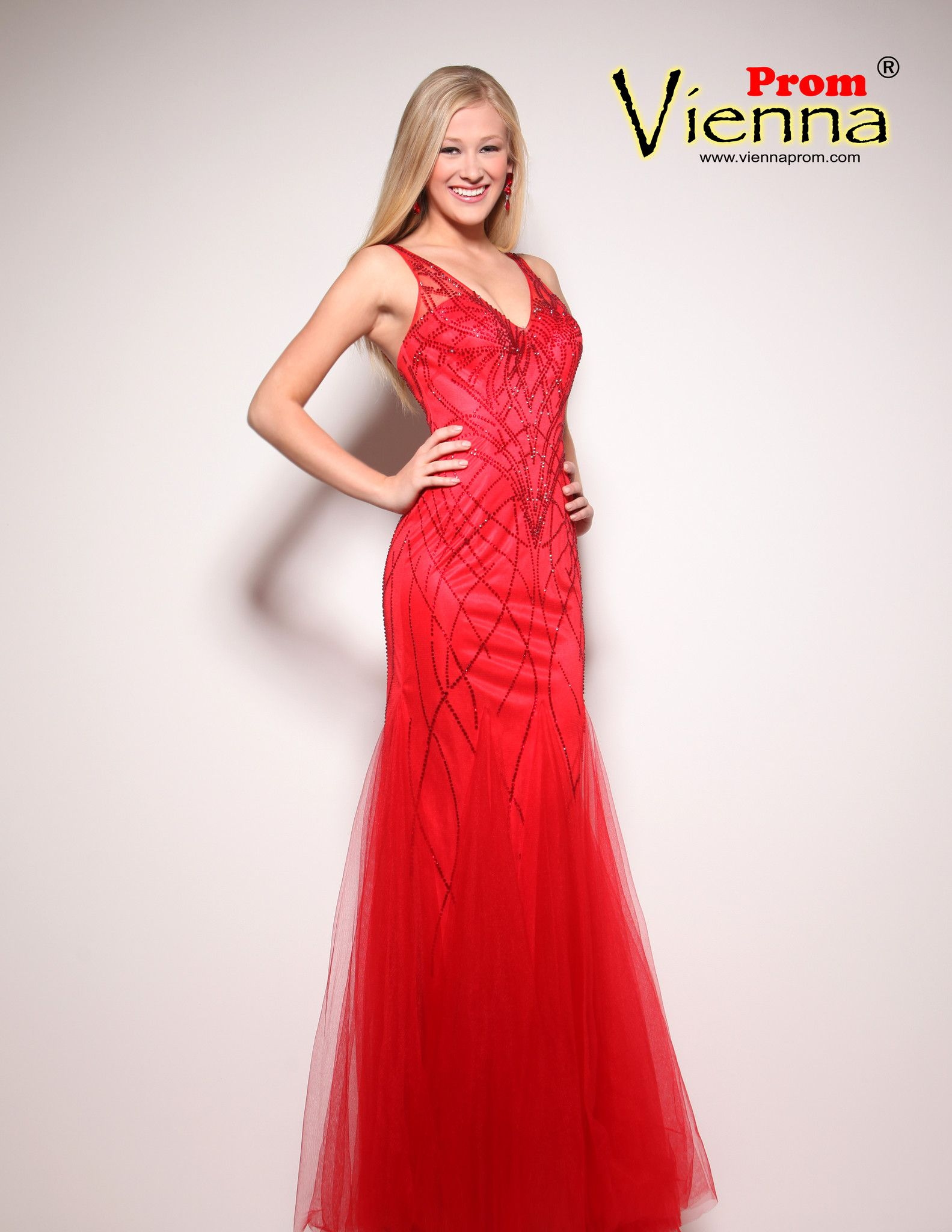 Vienna prom v red top designer dresses pinterest