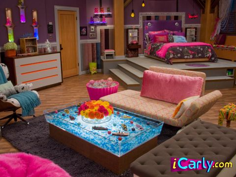 Pin By Stevie Mcnabb On My New Room Icarly Bedroom