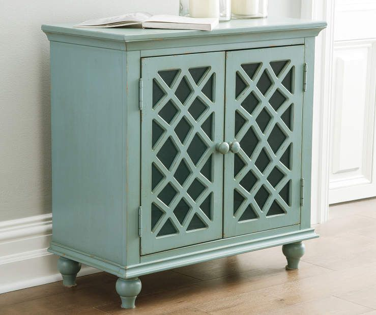 Best Signature Design By Ashley Mirimyn Teal Antique Accent 400 x 300