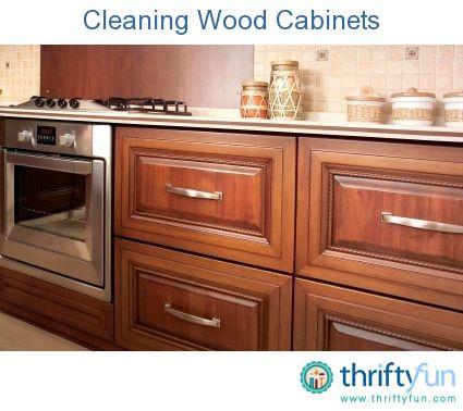 Cleaning Wood Cabinets Cleaning Wood Cleaning Wood