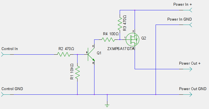 P-Channel mosfet controlling car 12v light - Page 4 | مدارات