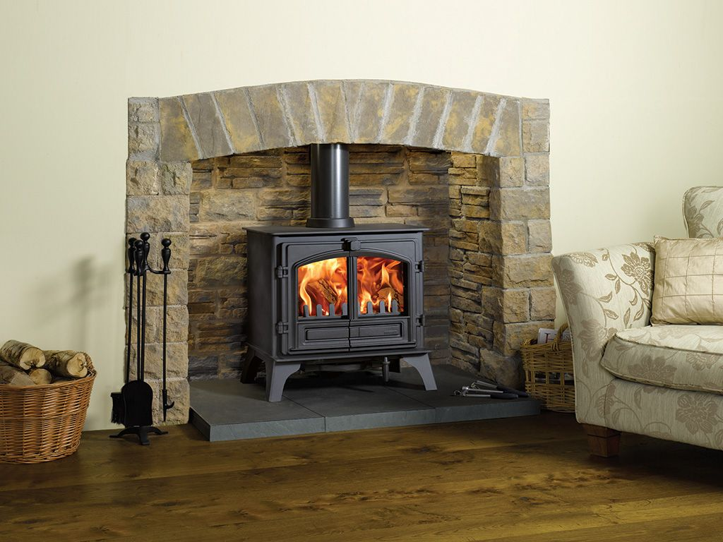 Riva Plus stoves are available either as dedicated wood burning ...
