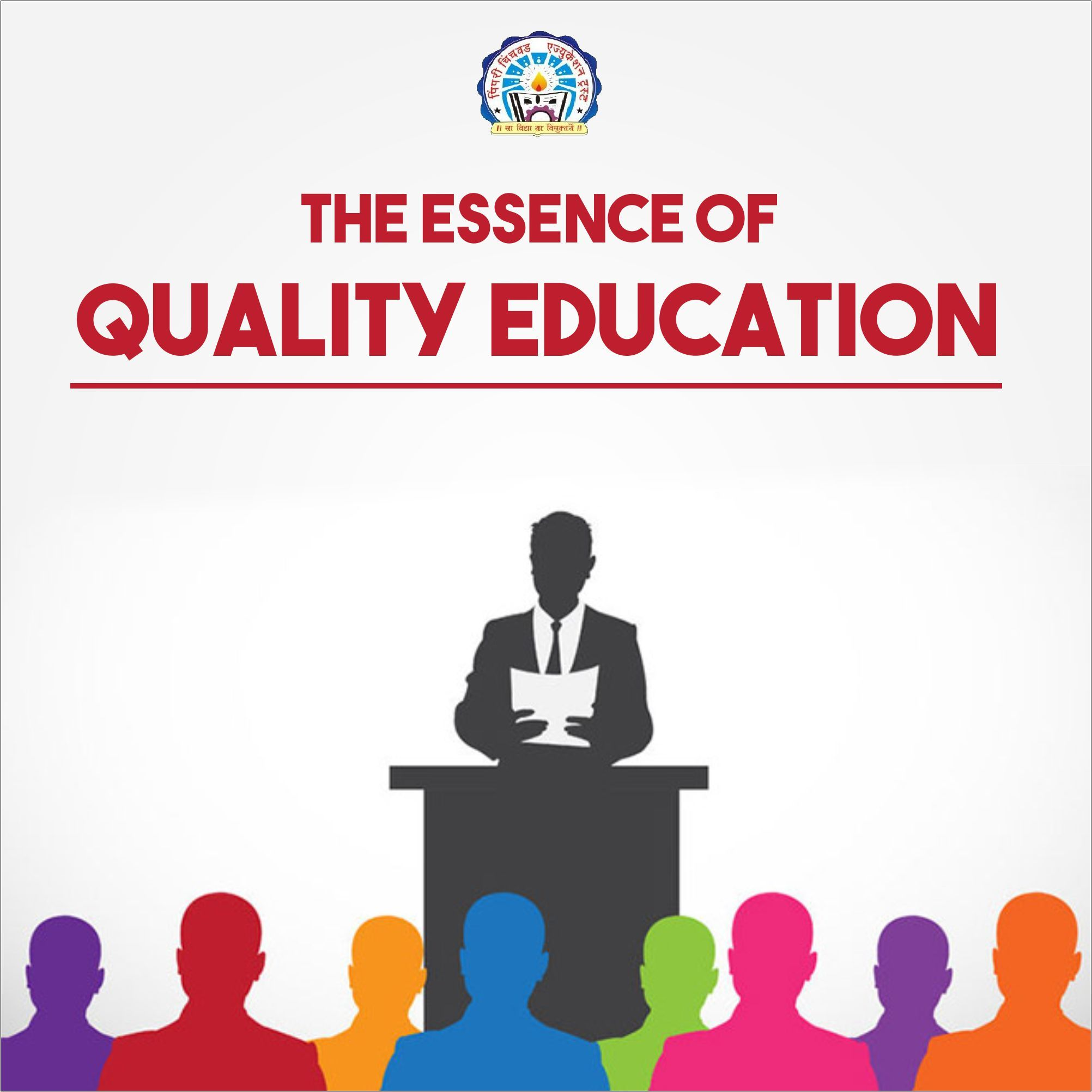 Essence of quality education is fulfilled here. PCCOER