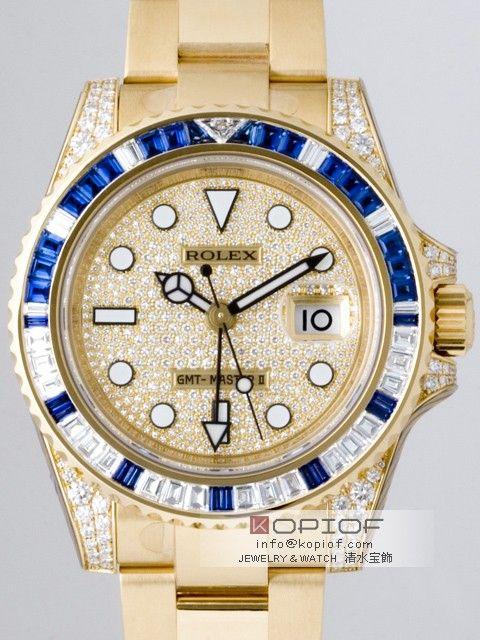 2f916ce40ee38b ロレックス GMTマスターII スーパーコピー116758SADP サファイヤダイヤベゼル 全面ダイヤ 商品番号: rolex0338