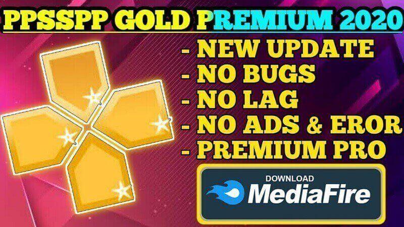 تحميل Ppsspp Gold للاندرويد من ميديا فاير أحدث إصدار برابط مباشر Gold Download Free