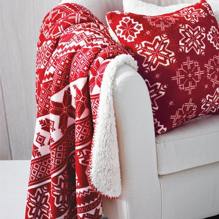 Fair Isle Printed Fleece Throw | Avon Shop http://www.youravon.com ...