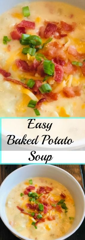 Oct 4 Easy Baked Potato Soup Recipe images