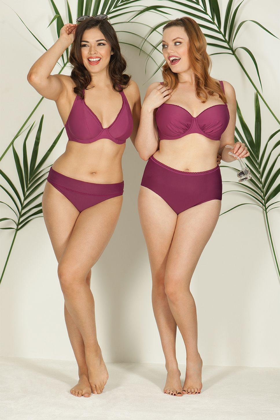 3c79c4677c808 Curvy Kate Jetty Halterneck Bikini Top Berry | Curvy Kate Swimwear ...