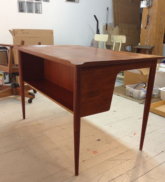 Pretty Neat Designs: Before and After - mid century modern desk