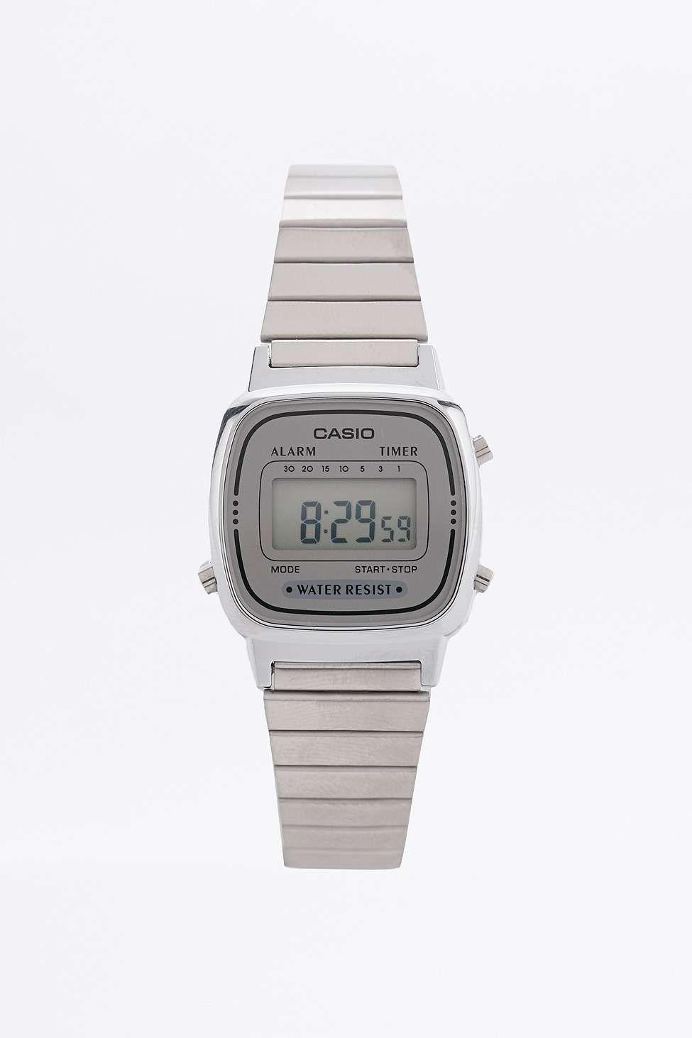 Casio Silver Mini Digital Watch   Urban Outfitters   Pinterest ... d6161d9777