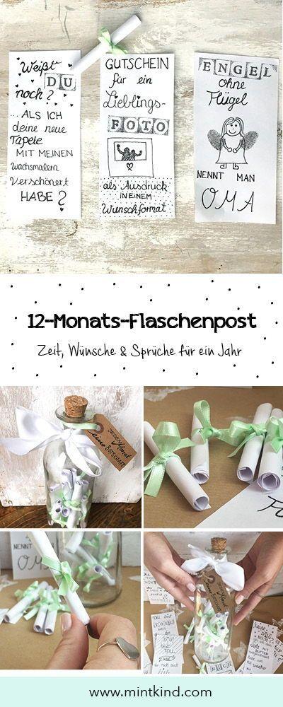 DIY Geschenkideen für deine Lieblingsmenschen - mintkind - Blog
