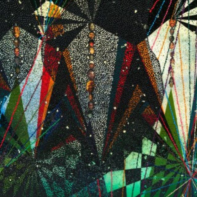 A work of art by Chris Ofili
