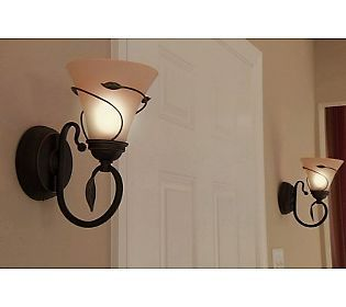Candle Impressions Vine Wred Flameless Sconces With