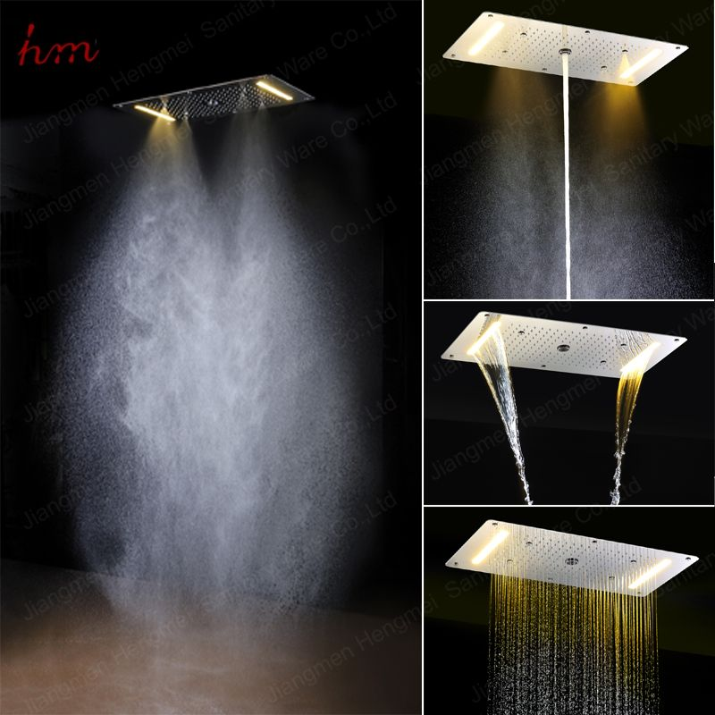 Find more shower heads information about 2016 popular led - What uses more water bath or shower ...
