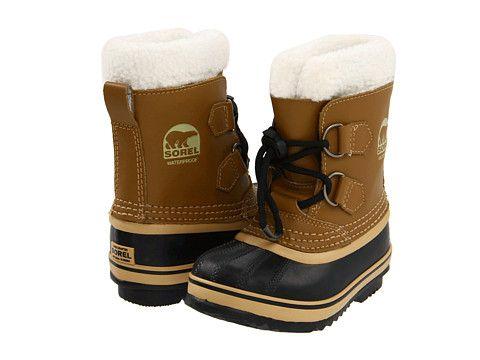 Sorel Boys Winter Boots Mesquite