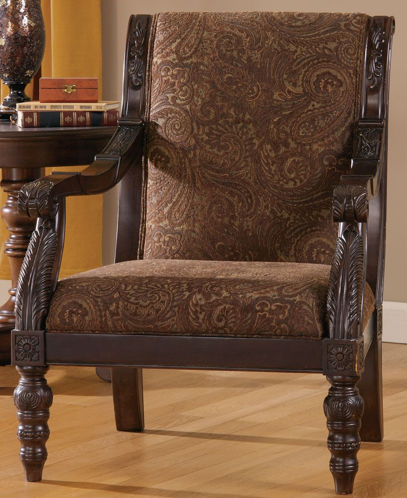 Bradington Truffle Showood Accent Chair By Ashley Furniture With Images At Home Furniture Store Furniture Mattress Furniture