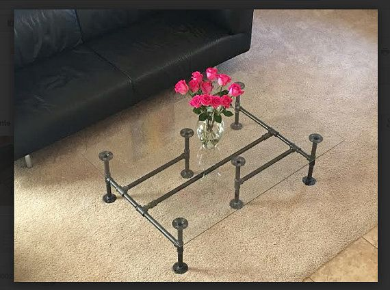 Industrial Pipe Coffee Table I Industrial Pipe Table I