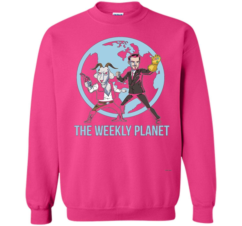 The Weekly Planet tshirt