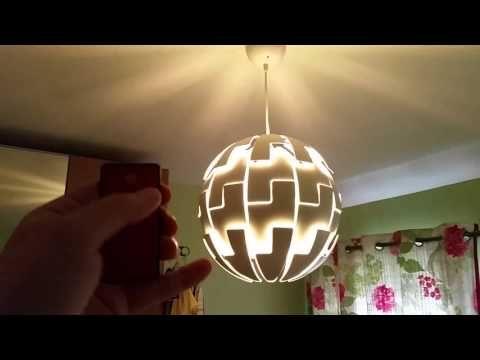 Automated Ikea Ps 2014 Pendant Lamp Ikea Hackers Ikea Ps 2014 Ikea Ps Star Lamp