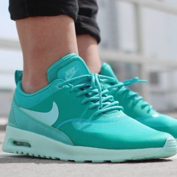 Nike Shoes   Nike Air Max Thea Sneakers Size 7 Turquoise