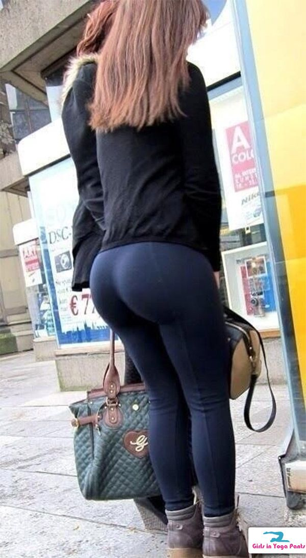 Big Booty  Girls In Yoga Pants - Part 7  I Love These -5265