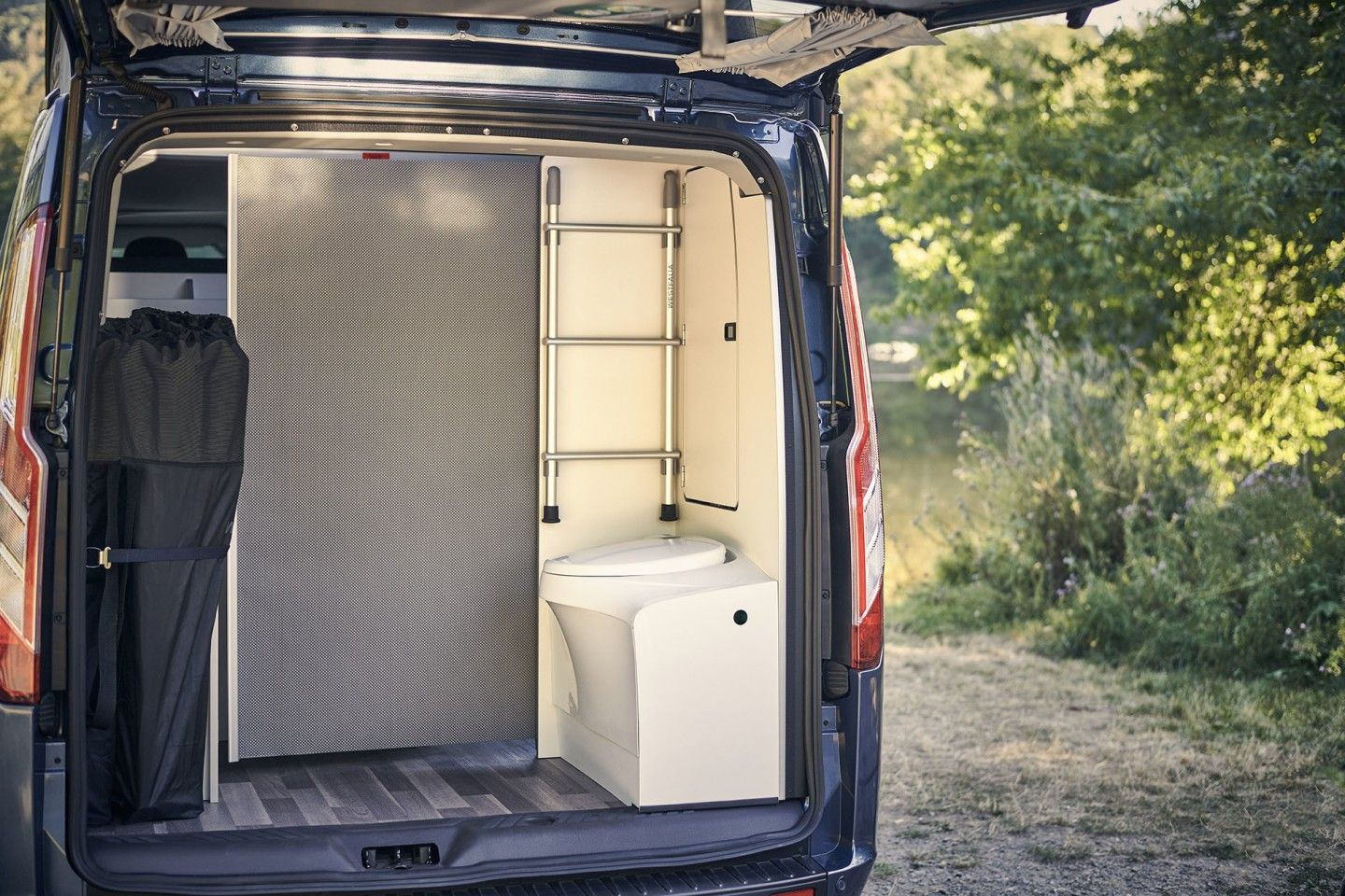 Bathroom Included Ford Nugget Plus Camper Van Outshines Vw S Pop Top Transit Custom Ford Transit Ford Transit Custom Camper