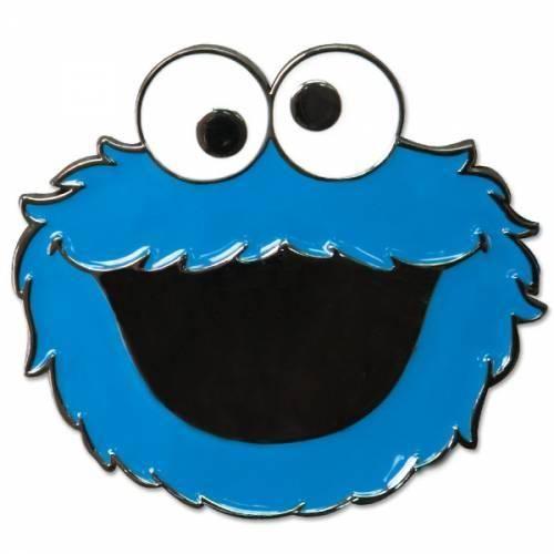 Click for Full Size Image of Sesame Street, Belt Buckle, Cookie Monster