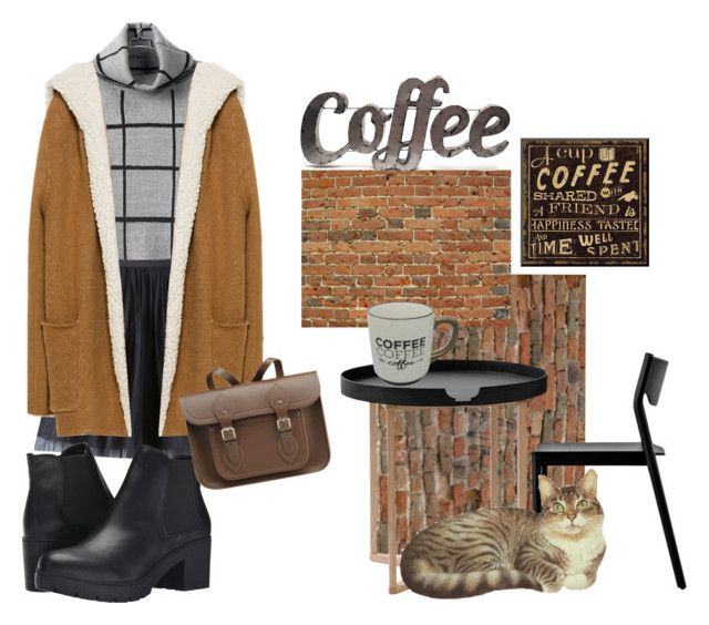 """Coffee shop"" by c4stles ❤ liked on Polyvore featuring Bebe, Zara, Steve Madden, .wireworks, The Cambridge Satchel Company, Resident, Threshold, Fall, outfit and nice"