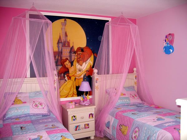 Picture of the Disney Princess bedroom | Ideas for Home ~ Disney ...