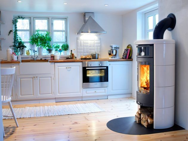 Kaminöfen - diese unterschiedlichen Heizmöglichkeiten haben Sie - küchen holzofen wasserführend