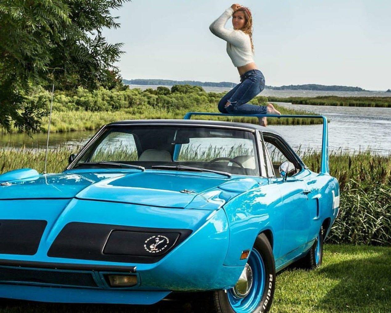 Superbird Muscle Cars Classic Cars Muscle Mopar Girl